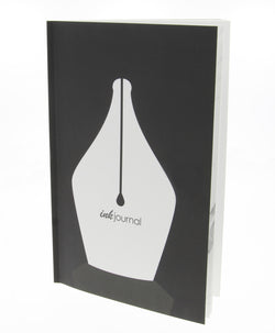 InkJournal Black Notebook for Pen Collectors