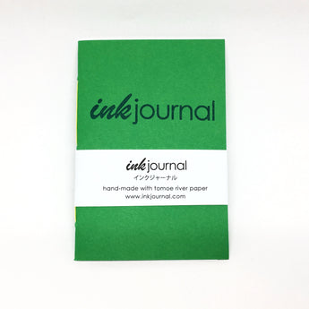 InkJournal Pocket Tomoe Field Green Notebook
