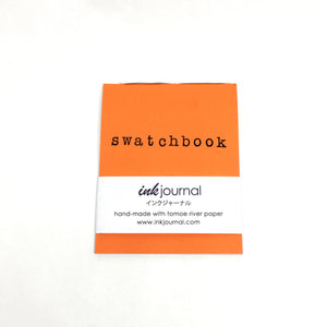 InkJournal Swatchbook Orange Tomoe River Notebook