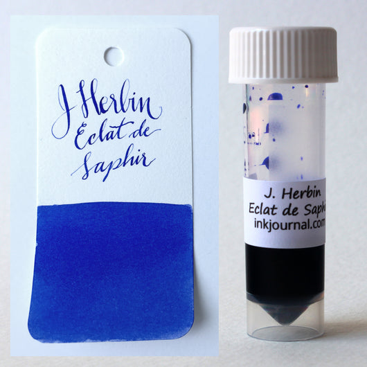 J. Herbin Eclat de Saphir Ink Sample 2ml