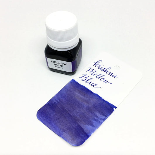 Krishna Mellow Blue Bottled Ink 20ml