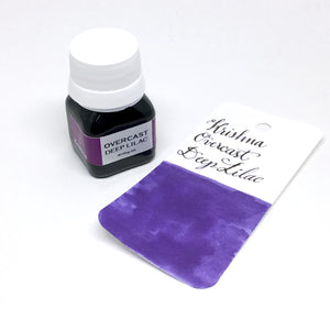 Krishna Overcast Deep Lilac Purple Bottled Ink 20ml