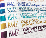 KWZ Ink Flight Sample Set