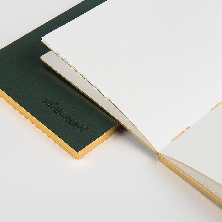 Mishmash Gilded Edge Notebooks - Pocket Size