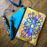 Rickshaw Bags x InkJournal Exclusive Inktopus A5 Journal Zip Pouch - Kraken Yellow