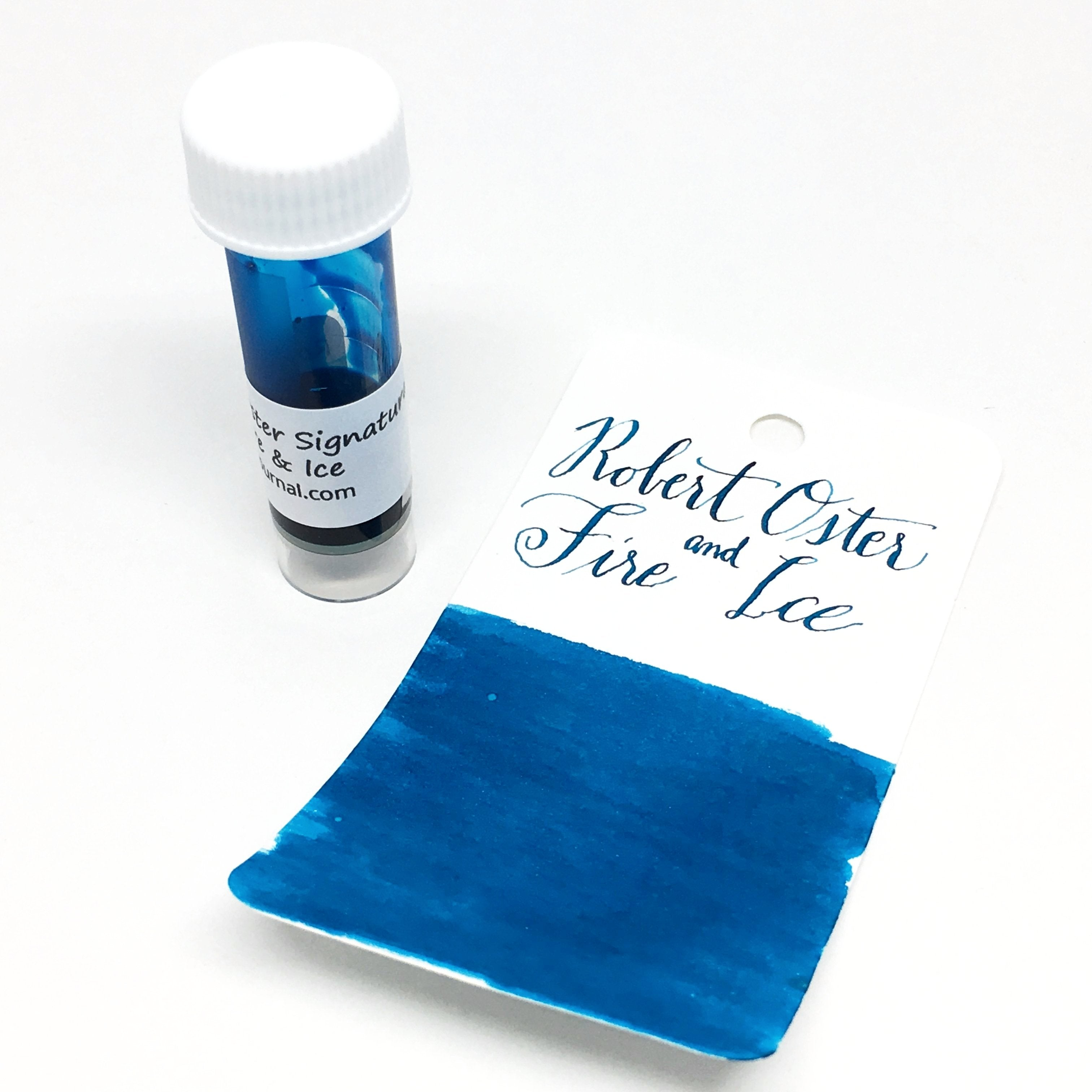 "Robert Oster ""Fire and Ice"" Ink Sample 2ml"