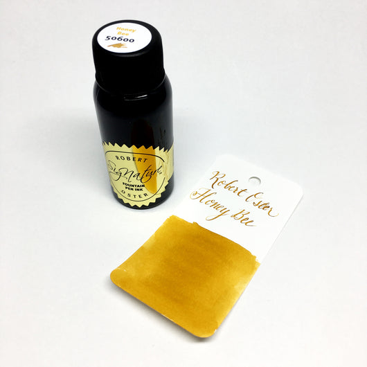 Robert Oster Honey Bee Bottled Ink 50ml