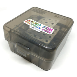 MTM Case Gard Shot Shell 25 Round Ink Sample Box - Clear