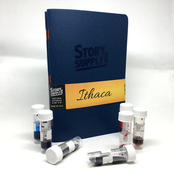 Story Supply Co. Ithaca Notebooks + Ink Flight Sample Bundle
