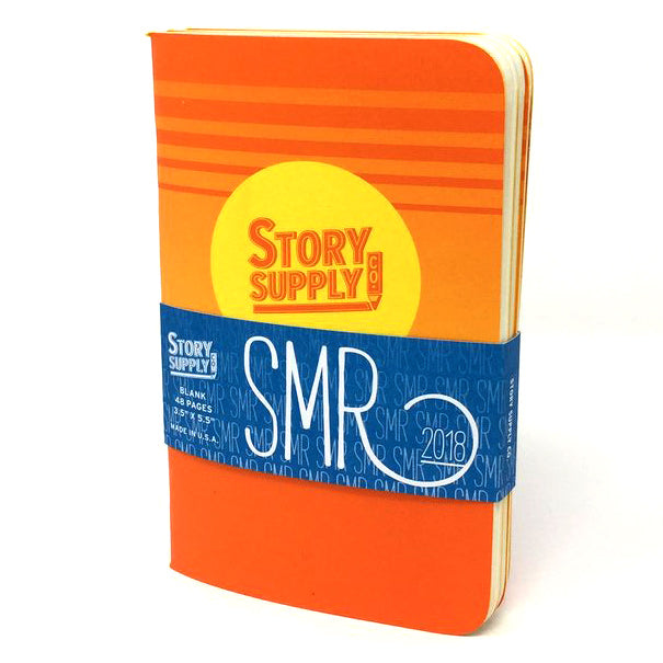 "Story Supply Co ""SMR 2018"" Pocket Notebooks 3-Pack"