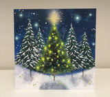 Tree of Light Christmas Cards (Pack of 10)