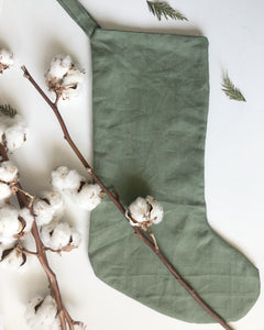 Linen Stocking for the Minimalist
