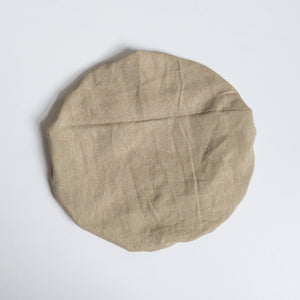 forage green xl linen bowl cover