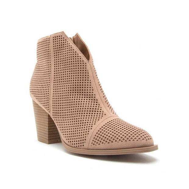 Rose Cut Booties - Nigh Road
