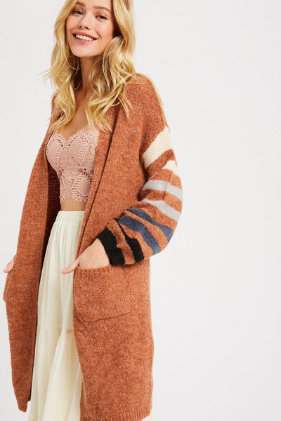 Multi Colored Knit Cardigan