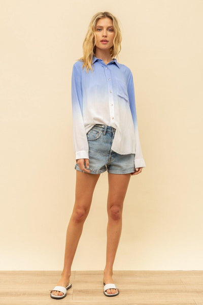 DIP DYED Button Down