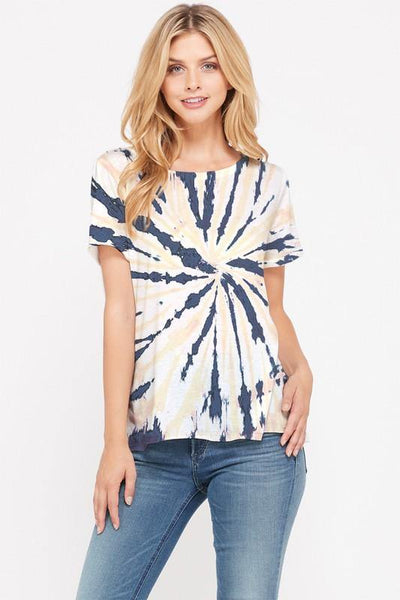 Tie dye short sleeve top - Nigh Road
