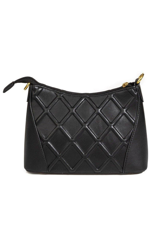 Diamond Pattern Shoulder Fashion Bag - Nigh Road