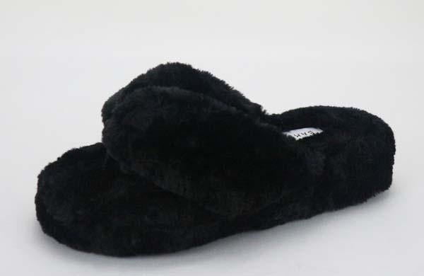 Fluffy Flip Flop Slippers - Nigh Road