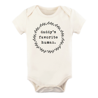 Onesie Daddy's Favorite Human Short Sleeve