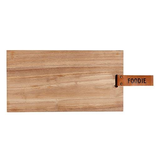 Foodie Charcuterie Plank Board