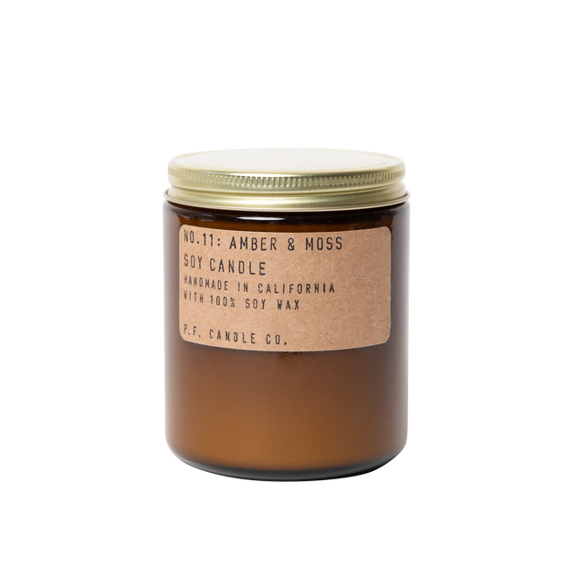 P.F. Candle Co. - Amber & Moss - 7.2 oz Standard Soy Candle