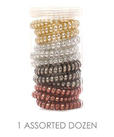 Spiral Hair Tie Set - Nigh Road
