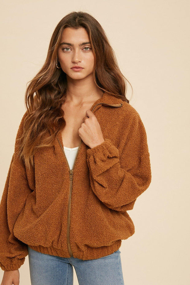 Teddy Bear Jacket - Nigh Road