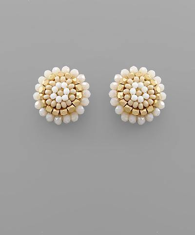 Beaded Dome Studs