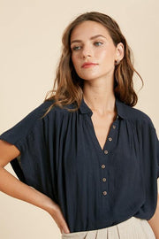 Button Down Blouse - Nigh Road