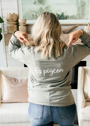 """It's Pigeon"" Long Sleeve Shirt"