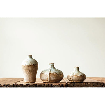 Terra-cotta Vases, Distressed Finish - Nigh Road