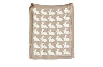Cotton Knit Baby Blanket - Nigh Road
