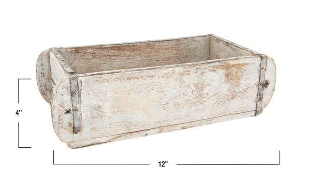 Found Wood Brick Mould