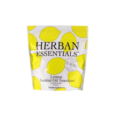 Essential Oil Towelettes - Lemon - Nigh Road