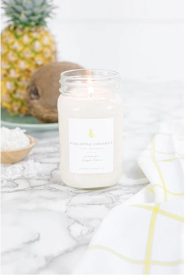 Pineapple Coconut by Antique Candle Co. - Nigh Road