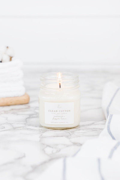 Clean Cotton by Antique Candle Co. - Nigh Road