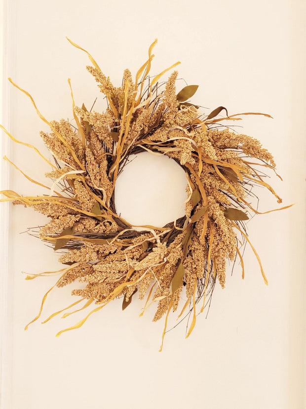 Fall Harvest Wreath - Nigh Road