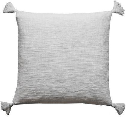 HAND WOVEN TASSEL PILLOW COVER