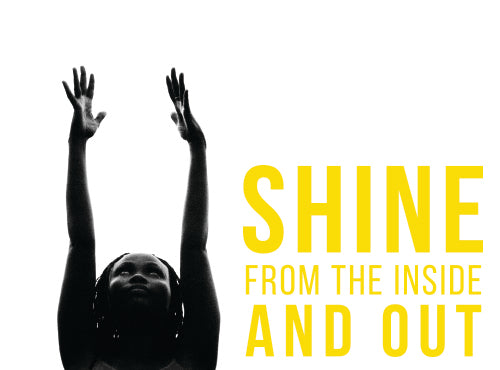 Africa Yoga Project, Shine from the inside out.