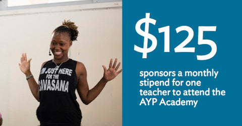 Impactful Gift: Help sponsor a teacher to attend the AYP Academy