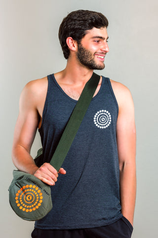 UBUNTU MADE ZIPPERED YOGA MAT BAG