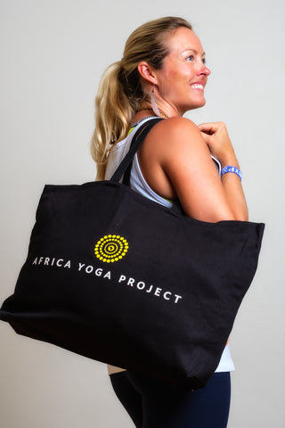 JUMBO AFRICA YOGA PROJECT TOTE BAG