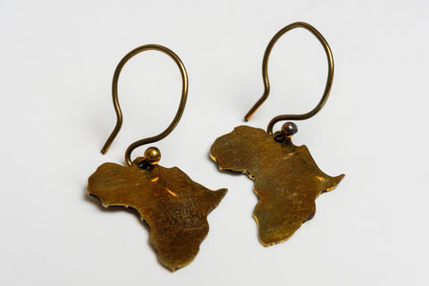 AFRICA EARRINGS - MADE IN KENYA