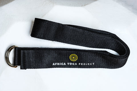 NAMASKAR YOGA STRAP WITH LOGO