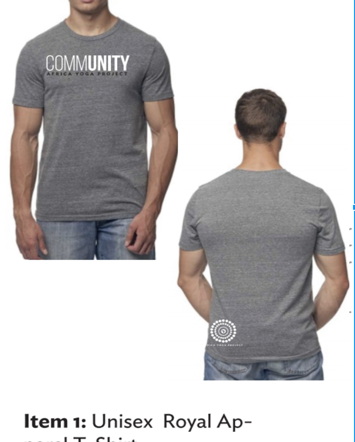 HHH 2018- Gray Unisex Community T. Shirt
