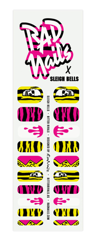 rad nails x sleigh bells nail wraps