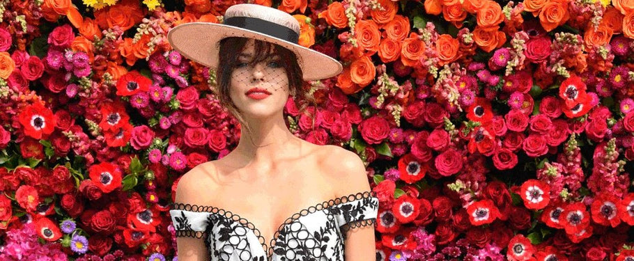 Winning fashion tips for spring racing day - underwear, dresses and makeup!