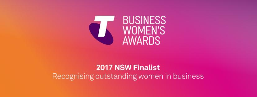 Modibodi CEO Kristy Chong,  named 2017 Telstra New South Wales Business Women's Awards Finalist