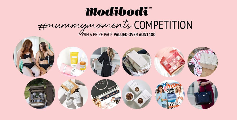 Modibodi Mummy Moments, Mother's Day Giveaway!